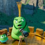 Courtney (Awkwafina) and Leonard (Bill Hader) in Columbia Pictures and Rovio Animations' ANGRY BIRDS 2.
