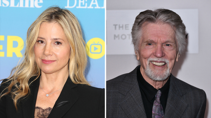 "Mira Sorvino e Tom Skerritt reciteranno in ""East of the Mountains""."