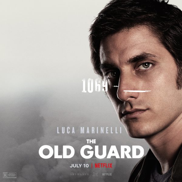 The Old Guard Character Poster Luca Marinelli Think Movies