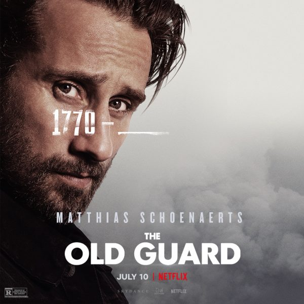 The Old Guard Character Poster Think Movies 1
