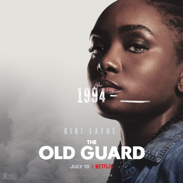 The Old Guard Character Poster Think Movies