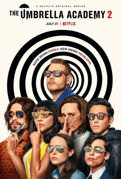The Umbrella Academy Poster Think Movies