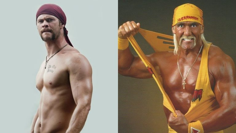Chris Hemsworth Hulk Hogan Think Movies