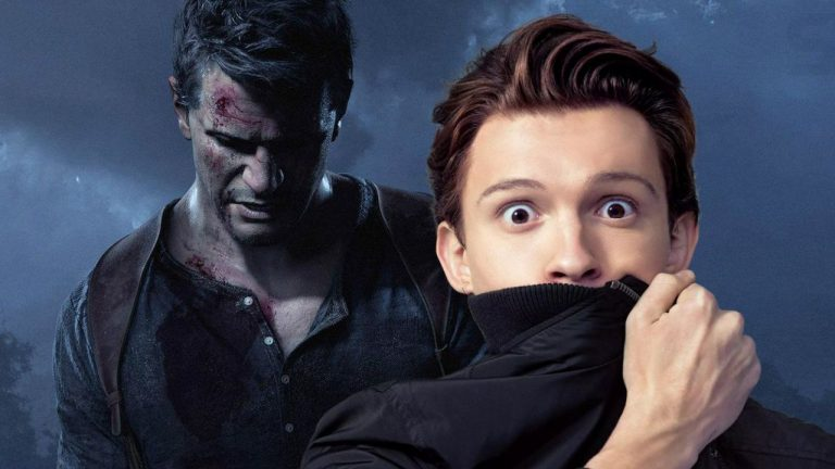 Uncharted Tom Holland Thinnk Movies