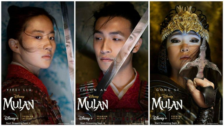 Mulan - Character Poster - Think Movies