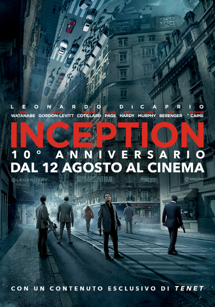 Poster Inception Think Movies