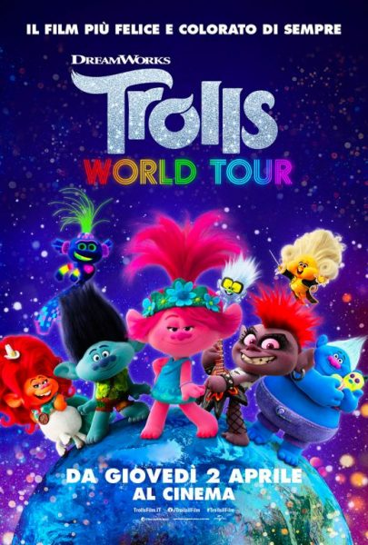 Trolls Poster Think Movies