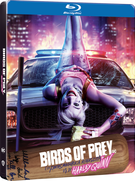 BIRDS_OF_PREY_Steelbook Think Movies