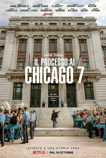 Il Processo si Chicago 7 - Poster - Think Movies