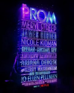 The Prom - Netflix - Poster - Think Movies