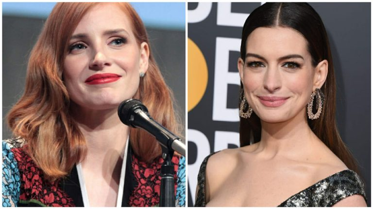 Chastain - Hathaway - Think Movies