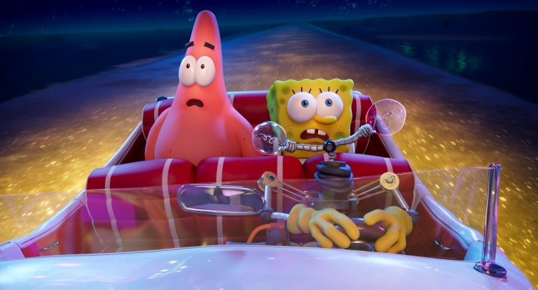 THE SPONGEBOB MOVIE: SPONGE ON THE RUN - Think Movies