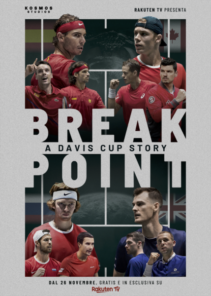 Break Point A Davis Cup Story - Poster - Think Movies
