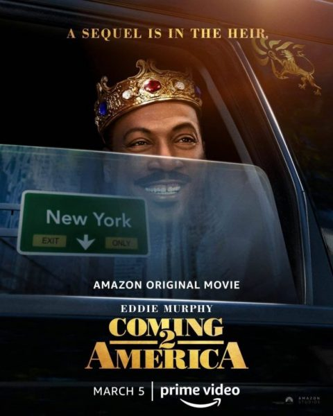 """Coming 2 America"": il Primo Poster del sequel su Prime Video il 5 marzo 2021"