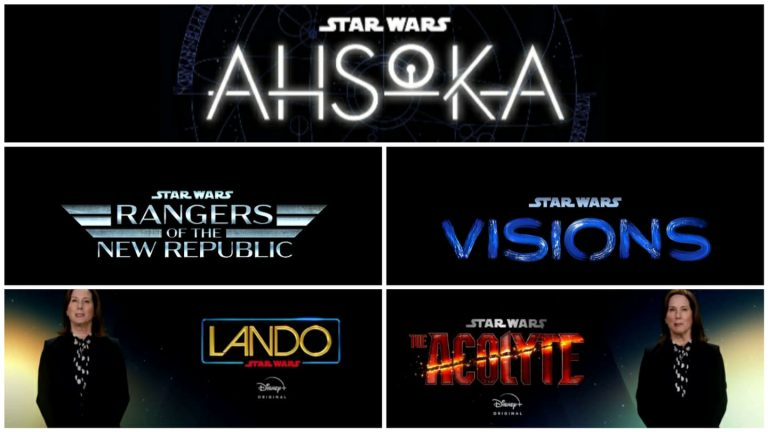 "Star Wars: in arrivo le serie ""Rangers of the New Repubblic"", ""Ahsoka"", ""Star Wars: The Bad Batch"", ""Lando"", ""Star Wars: Visions, ""The Acolyte"" e non solo"