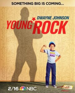 """Young Rock"": i Character Poster della serie su Dwayne 'The Rock' Johnson"