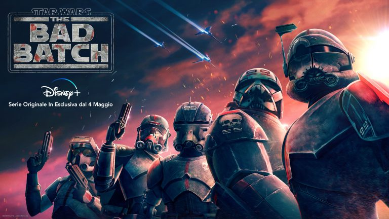 """Star Wars: The Bad Batch"": il Trailer e la Key Art della serie animata dal 4 maggio su Disney+"