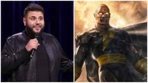 """Black Adam"": Mohammed Amer si unisce al cast del cinecomic"